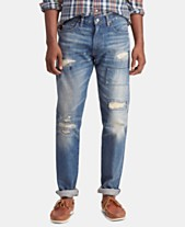 8088faa99d4c4 Polo Ralph Lauren Men s Sullivan Slim Distressed Cotton Jeans