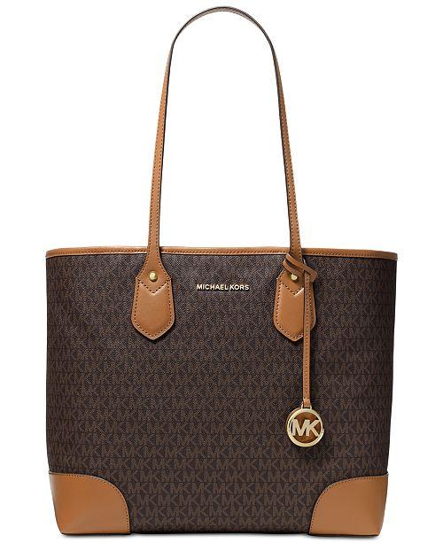 aefb6c23dd24 Michael Kors Eva Tote   Reviews - Handbags   Accessories - Macy s
