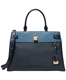 3796e3416587 Michael Kors Gramercy Signature Satchel & Reviews - Handbags ...
