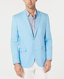 Kenneth Cole Men's Slim-Fit Chambray Sport Coat