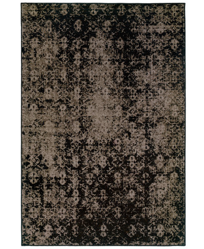 CLOSEOUT! Oriental Weavers Area Rug, Revamp REV7216E Grey 3'10