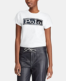 Polo Ralph Lauren Logo Graphic Cotton T-Shirt