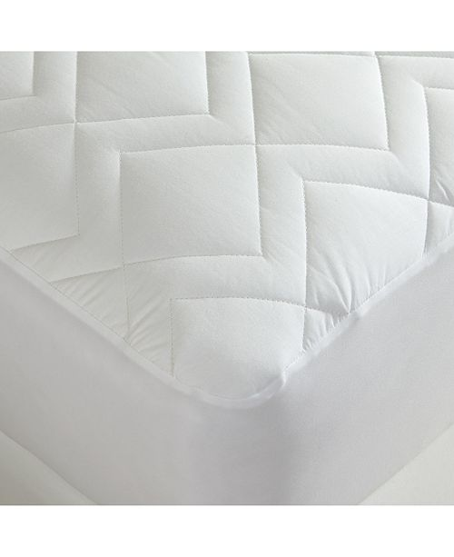 DownTown Company Waterproof Quilted Mattress Pad, King