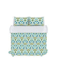 Sasha Duvet Cover Set, King, Seamoss