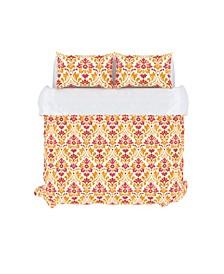 Sasha Decorative Pillow and Duvet Cover Set