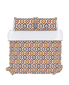 Aura Duvet Cover Set, King, Prism