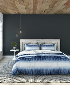 Fletcher Duvet Cover Set, King, Indigo