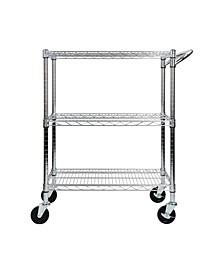 3-Tier Heavy Duty All-Purpose Utility Cart