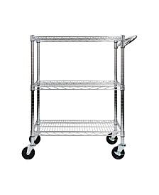 Oceanstar 3-Tier Heavy Duty All-Purpose Utility Cart