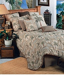 Palm Grove Queen Comforter Set