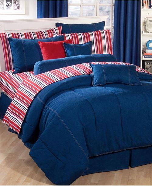 Karin Maki American Denim Twin Comforter
