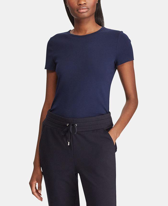 Lauren Ralph Lauren - Stretch Knit T-Shirt