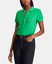 295c38e5f86 Ladies Polo Shirts  Shop Ladies Polo Shirts - Macy s
