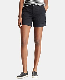 Lauren Ralph Lauren Convertible Cotton Twill Short