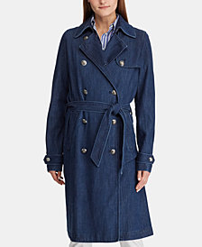 Lauren Ralph Lauren Twill Trench Coat