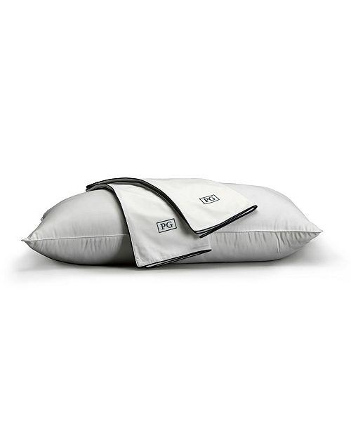 Pillow Guy 100% Cotton Sateen Pillow Protector, Set of 2 - King