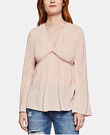 BCBGeneration Empire-Waist Blouse