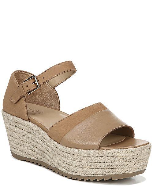 Naturalizer Opal Platform Wedge Sandals