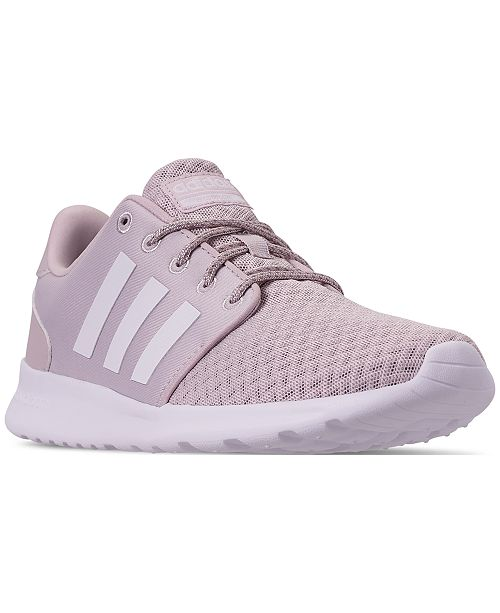 501d0b16ef07 ... adidas Women s Cloudfoam QT Racer Casual Sneakers from Finish ...