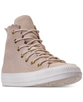 on sale 95d61 139c1 Converse Women s Chuck Taylor All Star High Top Frilly Thrills Casual  Sneakers from Finish Line