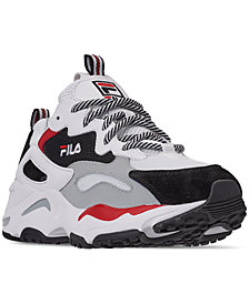 FILA Boys' Ray Tracer Casual Sneakers from Finish Line