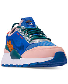 Puma Little Boys' RS-0 WTR Sesame Street 50 Casual Sneakers from Finish Line