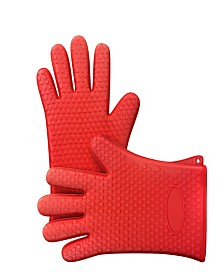 Trademark Global Silicone Oven Gloves