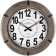Firstime and Co. Modern Rustic Wall Clock