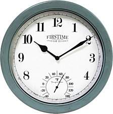 Firstime and Co. Chatham Outdoor Wall Clock