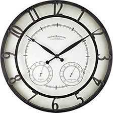 Firstime and Co. Park Outdoor Wall Clock
