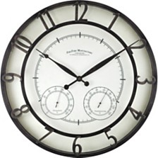 """Firstime and Co. 18"""" Park Outdoor Wall Clock"""