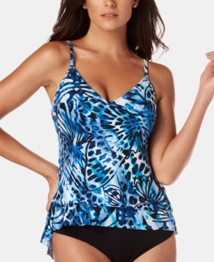 Magicsuit Suits MONARCH JOLENE ASYMMETRICAL TANKINI TOP WOMEN'S SWIMSUIT