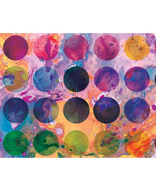 """Creative Gallery Bright Palette Abstract 16"""" x 20"""" Acrylic Wall Art Print"""