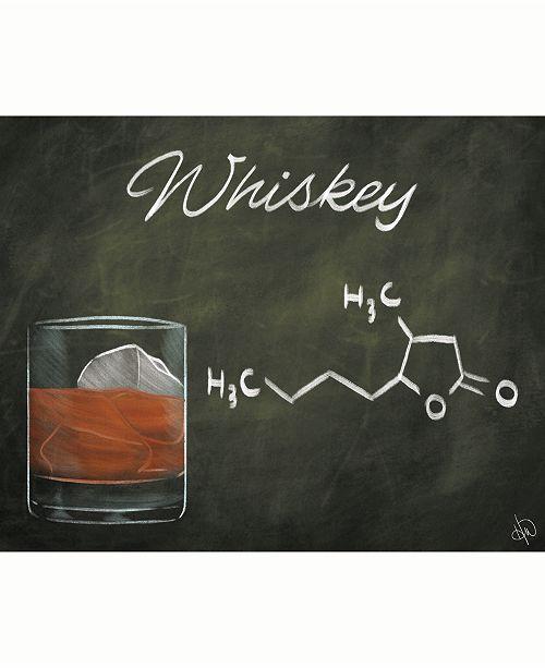"Creative Gallery Whiskey Chalkboard Formula 16"" x 20"" Acrylic Wall Art Print"