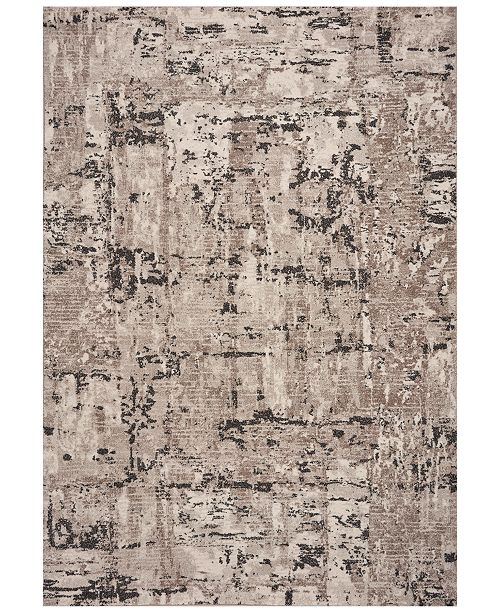"Kas CLOSEOUT! Reflections Natura 7405 Gray 2'7"" x 4'11"" Area Rug"