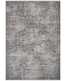 "KAS Reflections Vintage 7427 Gray 5'3"" x 7'7"" Area Rug"