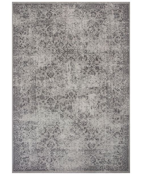 "Kas Reflections Vintage 7427 Gray 2'7"" x 4'11"" Area Rug"