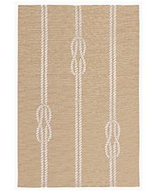 Capri 1636 Ropes 2' x 5' Indoor/Outdoor Area Rug