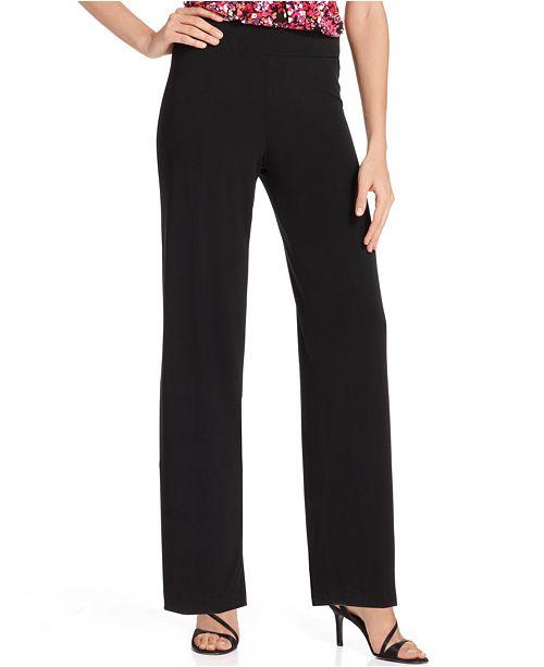 e2d1295114 NY Collection Petite Wide-Leg Palazzo   Reviews - Pants   Capris ...