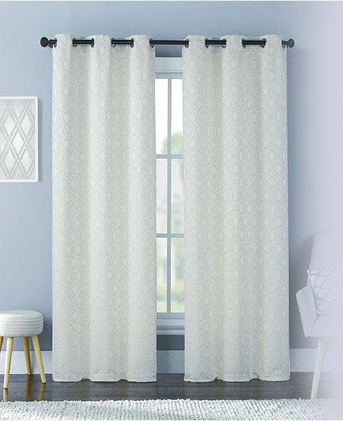 United Curtain Co Inc Mystique 76 Quot X 63 Quot Panel Pair