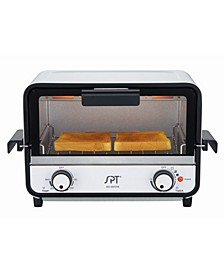 SPT Easy Grasp 2-Slice Countertop Toaster Oven