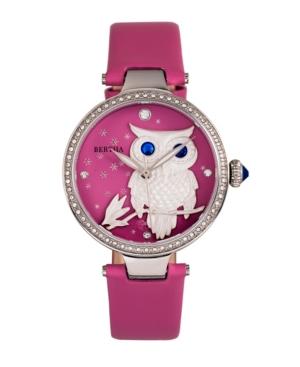 Quartz Rosie Pink Genuine Leather Watch