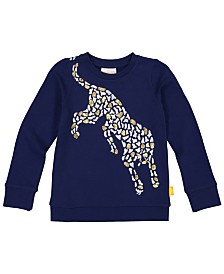 Masala Baby Girls Organic Cotton Organic Cotton Cheetah Jump Top