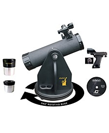 500 X 80 Swivel Base Dobsonian Table Top Telescope and Red Dot Finder Scope