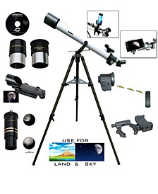 800mm X 72mm Electronic Focus Telescope and Smartphone Adapter