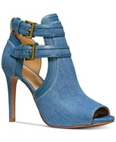 344b913d2b2 MICHAEL Michael Kors Blaze Peep-Toe Dress Booties