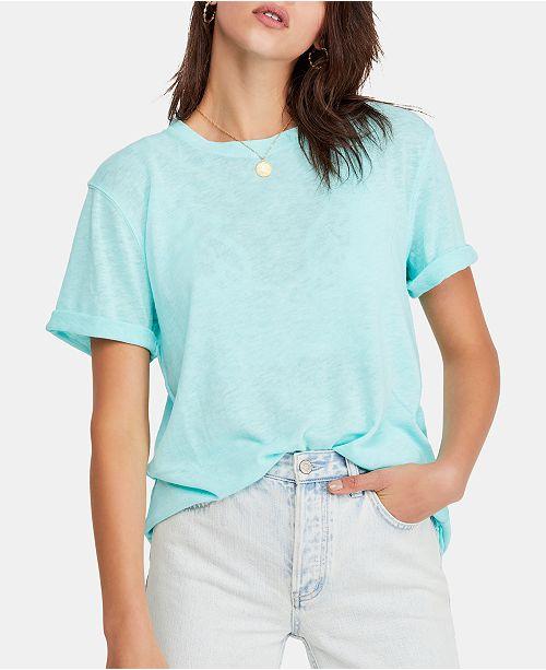 Free People Cassidy Cuffed-Sleeve T-Shirt