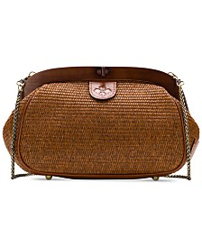 Patricia Nash Raffia Gracchi Shoulder Bag