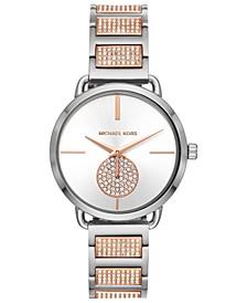 Women's Portia Two-Tone Stainless Steel Bracelet Watch 36mm