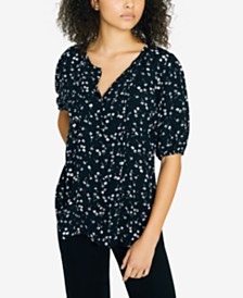 Sanctuary Grace Button Front Blouse